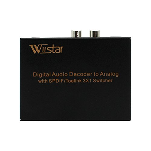 Wiistar Digital Optical Toslink Headphone product image