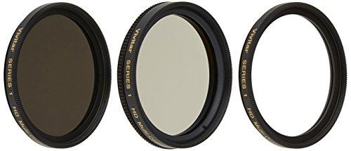 Vivitar 3-Piece Multi-Coated HD Filter Set (40.5mm UV/CPL/ND8) - Tg Set