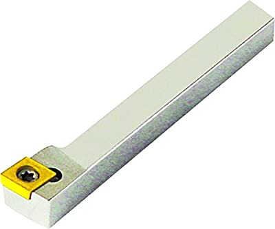 """Micro 100, 10-3232, Indexable Left Hand 90° Turning & Facing Tool, .394"""" Dimension Over Insert, 1/4"""" Square Shank, 2.36"""" Overall Length, CCMT 21.51 Insert Style"""