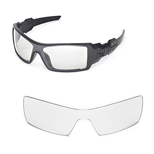 c4ee2a18dc Walleva Replacement Lenses for Oakley Oil Rig Sunglasses - Multiple Options  (Clear) - Buy Online in Oman.