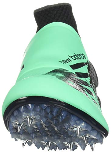 New Balance Men's Sigma Harmony Vazee Track Shoe neon Emerald/Black 4 D US by New Balance (Image #4)
