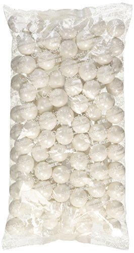 Sweetworks Gumball Shimmer, White, 2 Pound -