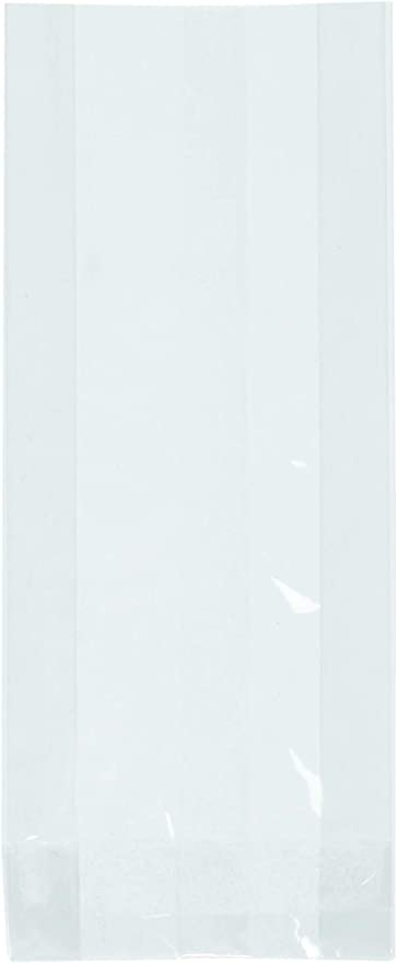 2.5 X 4.25-Inch Oasis Supply Flat Cello Bags Clear