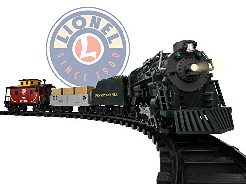 Lionel Pennsylvania Flyer Battery-powered Model Train Set Ready to Play w/ Remote (Best Train Set For 5 Year Old)