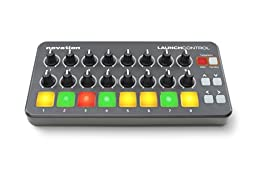 Novation Launch Control Portable USB Midi Contoller with 16 Assignable Knobs and Eight Pads