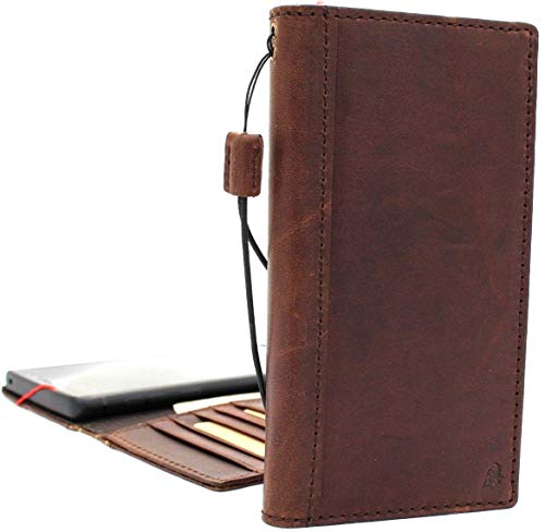 Genuine Leather for Samsung Galaxy Note 9 Book Case Wallet Luxury Cover Handmade Soft Holder Cards Jafo