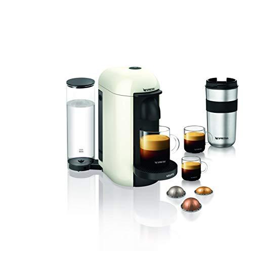Nespresso VERTUO Plus XN9031 Cafetera de cápsulas, máquina de café expreso de Krups, café diferentes tamaños, 5 tamaños…
