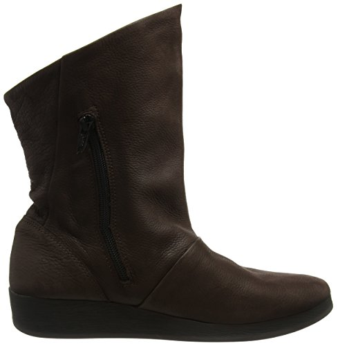 Softinos Brown Women's Boots Ann417sof Dk Brown rxqrXYOwZ