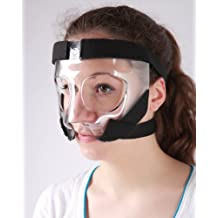 Sports Knight - Nose Guard/Face Shield with Padding - All Sports