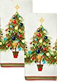 Fiesta Holiday Gatherings Terry Kitchen Towel, Set of 2