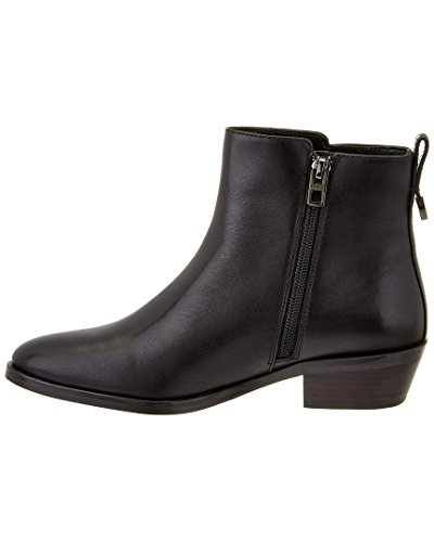 Toe Calf Coach Black Semi Matte Boot Black Carmen Round Ankle Suede Women Suede wrtrqP