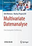 Book cover image for Multivariate Datenanalyse: Eine kompakte Einführung (Basiswissen Psychologie) (German Edition)