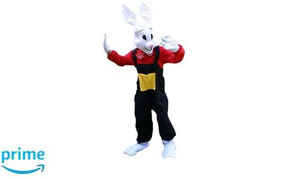 SU22 M / L Hare Hare Rabbit El traje adulto del carnaval: Amazon ...