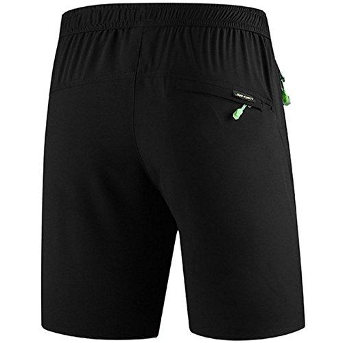 Sporthose Kurz Sommer Trainingsshorts leichtem Jogginghose Kurze mit Rei/ßverschlusstasche f/ür Workout Bmeigo Sport Shorts Herren