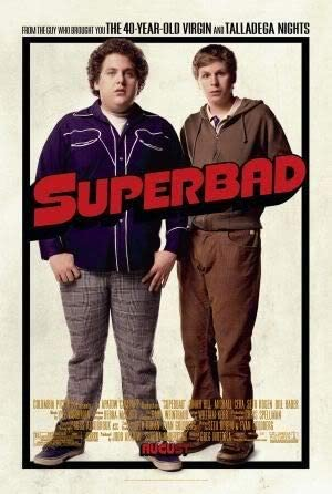 SUPERBAD - JONAH HILL – Movie Wall Art Poster Print – 43cm x 61cm ...