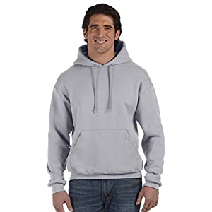 Fruit of the Loom mens 12 oz. Supercotton 70/30 Pullover Hood(82130)-ROYAL-M
