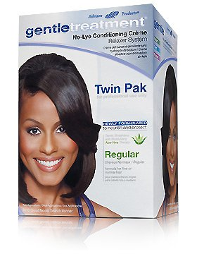 gentletreatment no lye relaxer (twin pack)