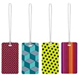 Go-Travel Tag Me Patterned Luggage Tag, Assorted, 153