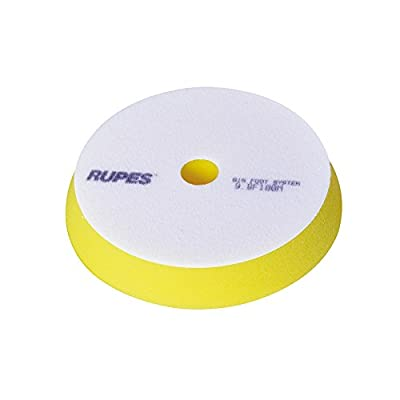 Rupes 150 mm (6 inch) Yellow Polishing Foam Pad: Automotive