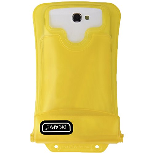 DiCAPac WP-C2 Yellow Premium Series Waterproof Case for Smartphones up to - C2 Yellow