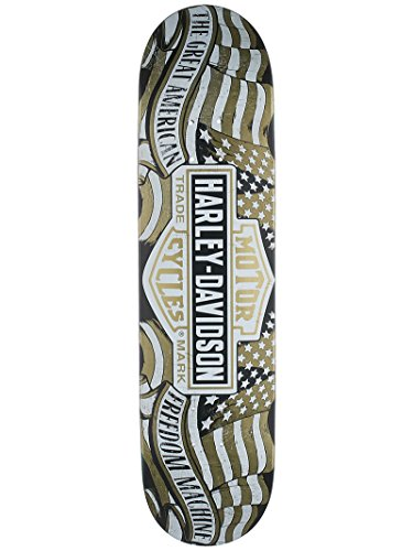 Dark Star 10012500 Harley-Davidson Freedom Deck, Gold, Size - Decks Darkstar