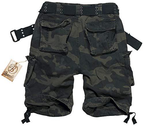 Scuro Camo Shorts Nero Savage Brandit Vintage Pantaloncini qXxwPCY