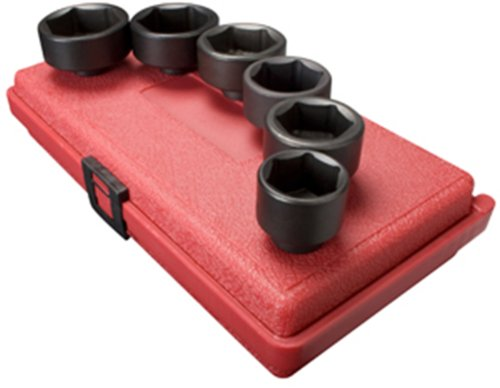 Sunex 3671 3/8-Inch Drive Oil and Fuel Filter Socket Set, 6-Piece