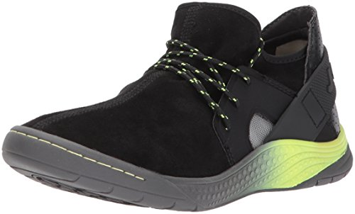 Black Yellow Sneakers (JSport by Jambu Women's Catskill Fashion Sneaker, Black/Neon Yellow, 6 M US)
