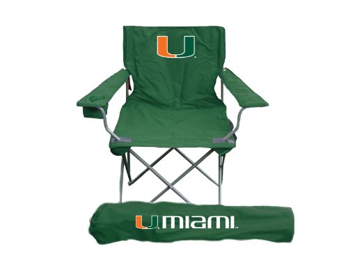 Miami Hurricanes NCCA Ultimate Adult Tailgate (Ultimate Tailgate Chair)