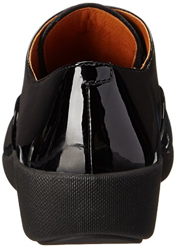 Pop All Cordones Negro Fitflop Mujer TM Oxford Zapatos de Black para F BqqxSvTw5