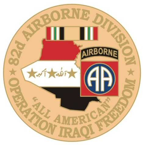- US Army 82nd Airborne Division Operation Iraqi Freedom 1-1/8