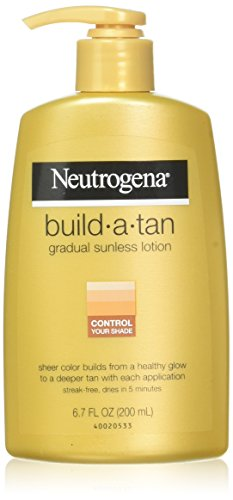 Neutrogena Build-A-Tan Gradual Sunless Tanning - 6.7 oz