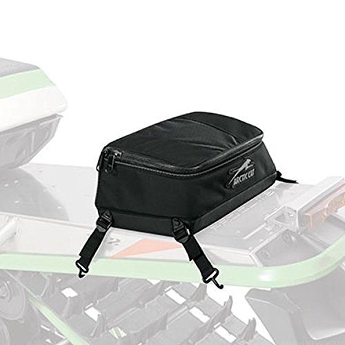 Arctic Cat Gear (Arctic Cat New OEM Snowmobile Black Mountain Pack Tunnel Bag, 800 1100, 5639-710)