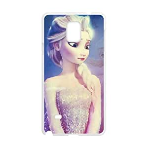 Samsung Galaxy Note 4 Cell Phone Case White Frozen 032 YB4989816