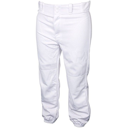 Rawlings Youth Kids White Baseball Pants (XS) by Rawlings Co