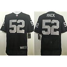 Mens Raiders #52 Jersey Mack Black
