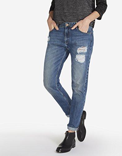 Musthave Boyfriend Blue Blue Jeans Wrangler Musthave Bleu Femme 5dnP5a