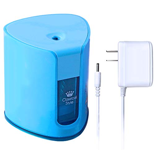 Electric Pencil Sharpener with Heavy Duty Helical Steel Blade for Office School Home by iMustech (Blue) by iMustech (Image #7)