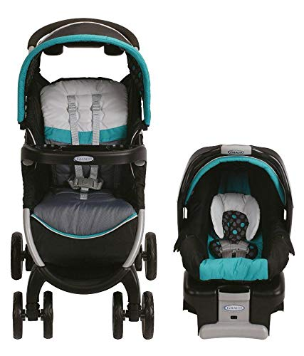 Graco Fast Action Fold Classic Connect-Dolce Stroller with Car Seat Snugride 30