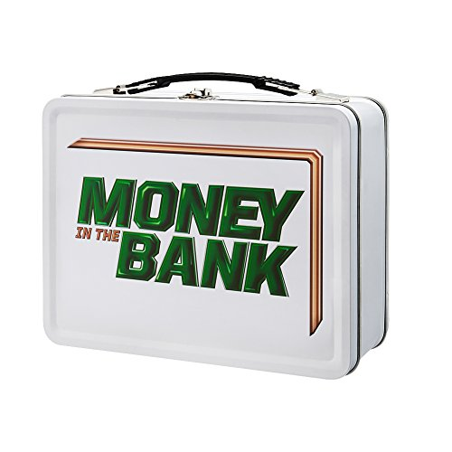 Women's Money in The Bank White Lunch Box (Wwe Money In The Bank Results 2013)