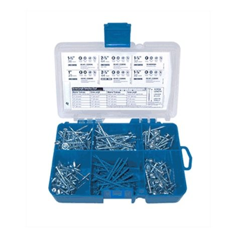 Kreg SK04 Pocket-Hole Screw Starter Kit Kreg Jig Screws