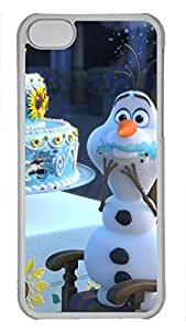 iCustomonline Frozen PC Transparent Hard Back Case Cover for iPhone 5C hjbrhga1544