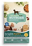 Rachael Ray Nutrish Bright Puppy Real Chicken & Brown Rice Recipe Dry Dog Food, 14 Pounds