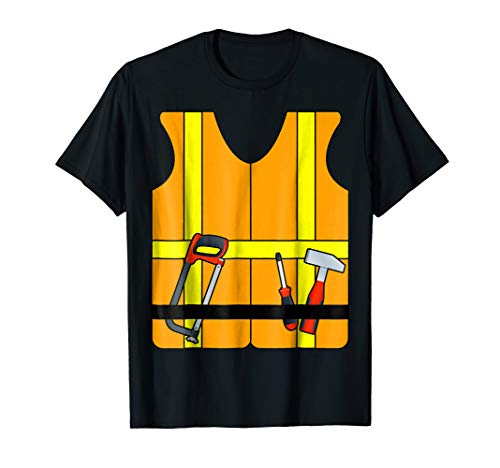 Construction Worker Halloween Costume T-Shirt ()