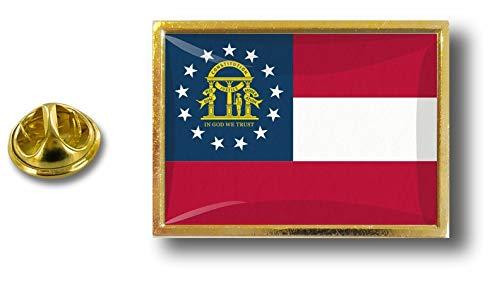 Georgia Estados Unidos insignia los Perno de mariposa de Clip los alfiler alfileres Estados con de Akacha la de metal de del xRxqfUIH
