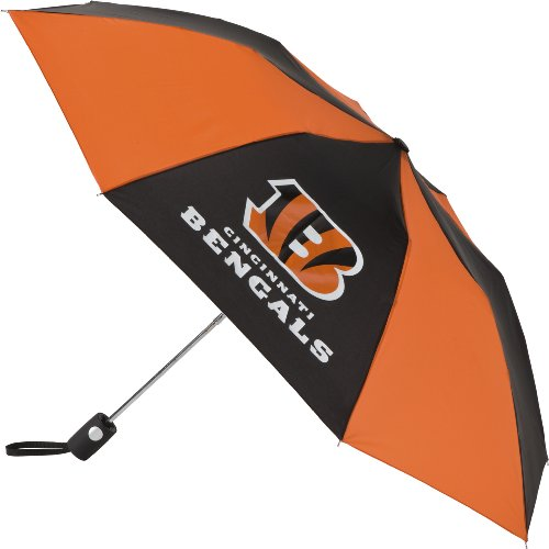NFL Cincinnati Bengals Auto Folding Umbrella