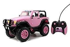 Jada Toys GIRLMAZING Big Foot Jeep R/C V...