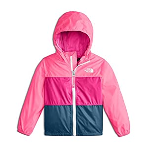 The North Face Toddler Flurry Wind Jacket - Gem Pink - 5T