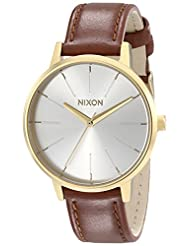 Nixon Women's A1081425 Kensington Leather Watch
