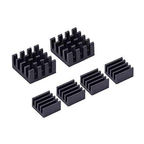 mudder-6-piece-black-aluminum-heatsink-cooler-cooling-kit-for-raspberry-pi-3pi-2pi-model-b-